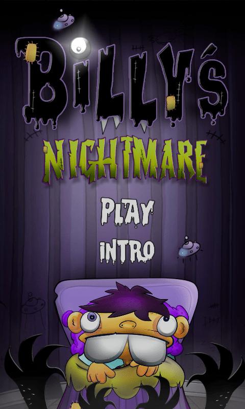 Billy's Nightmare vous emmène dans les cauchemars d'un enfant
