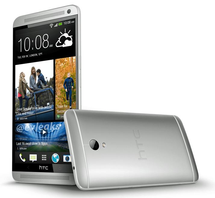 Une image presse du HTC One Max fuite en ligne