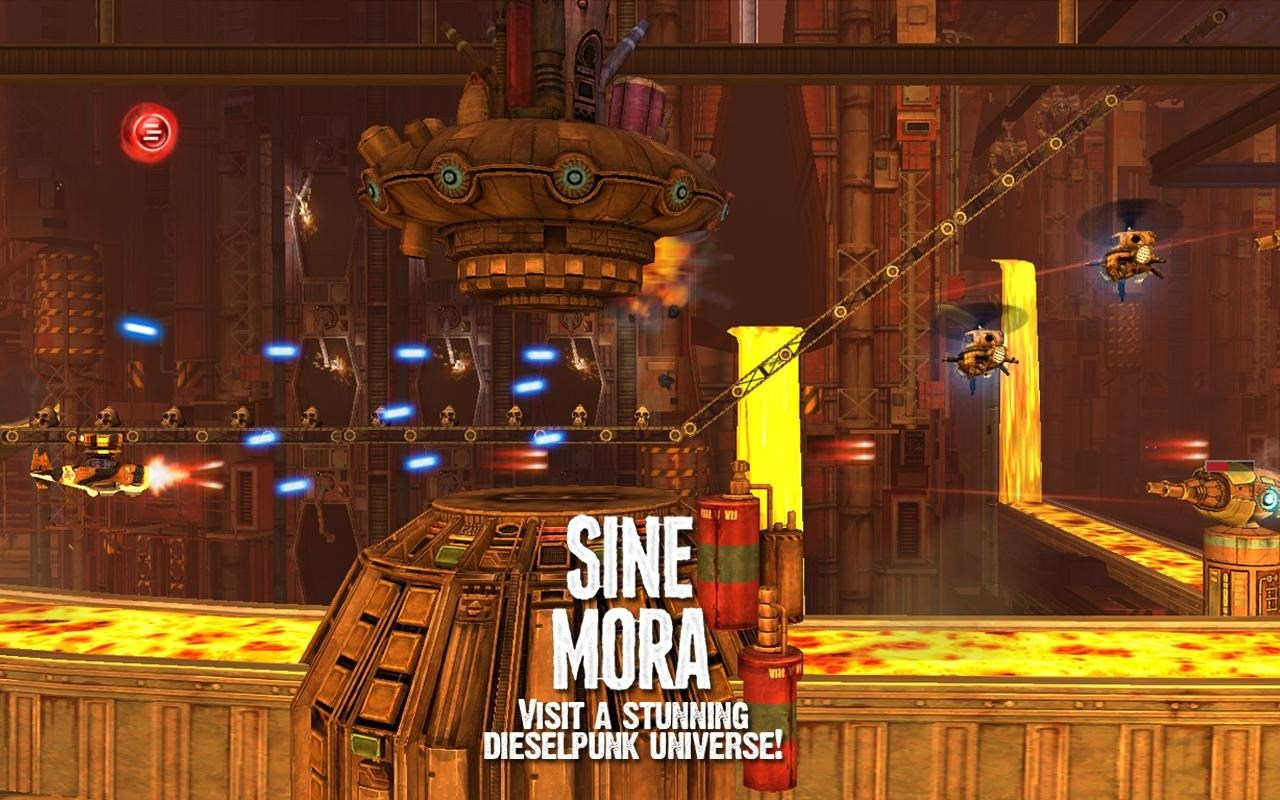 Sine Mora arrive sur Android