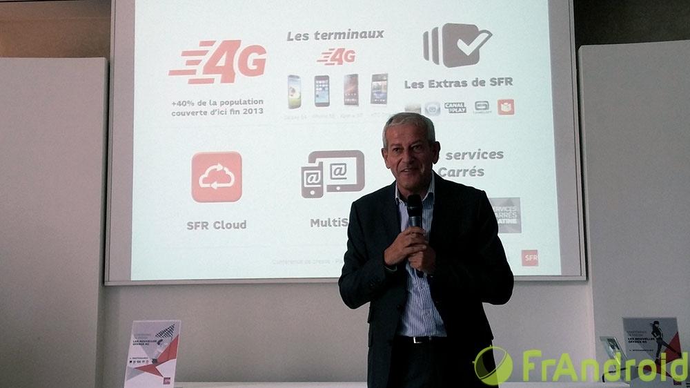 SFR revoit ses Formules Carrées 4G : des «Extras», du Cloud, du multiSIM… et 40% de couverture 4G fin 2013