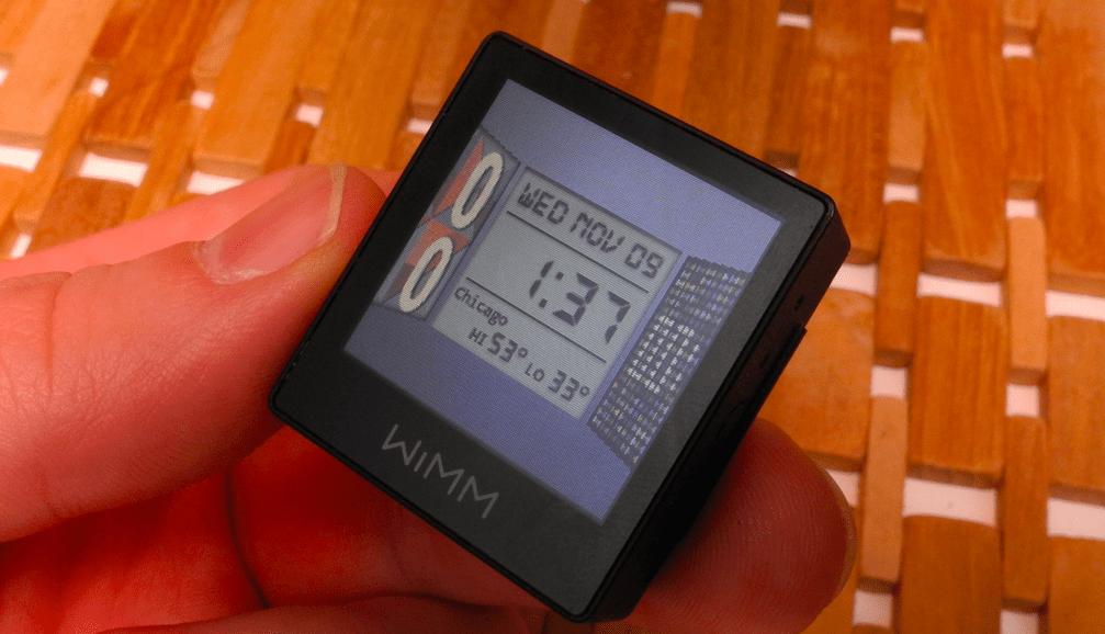 Google rachète WIMM Labs, un fabricant de montres connectées