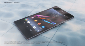 Le Sony Xperia Z1 est officiel !