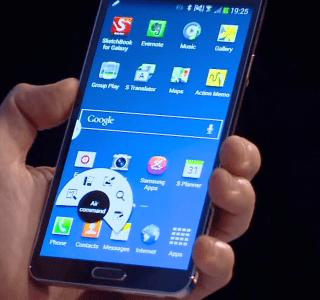 Le Samsung Galaxy Note III se dévoile enfin !