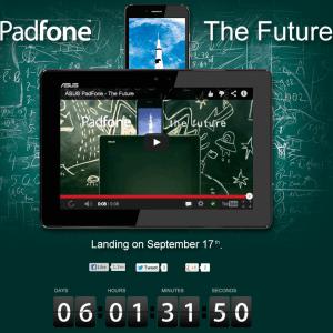 L'Asus PadFone Infinity A86 sera présenté le 17 septembre