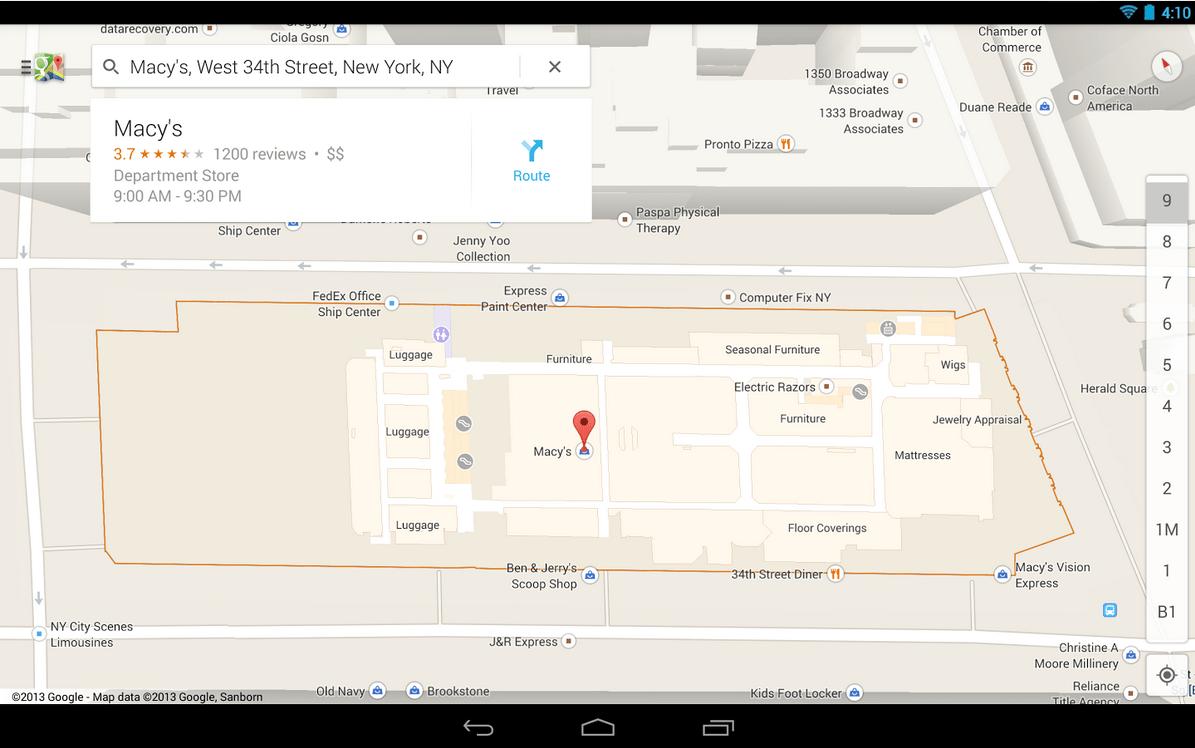Google Maps 7.2 : quelques améliorations à noter