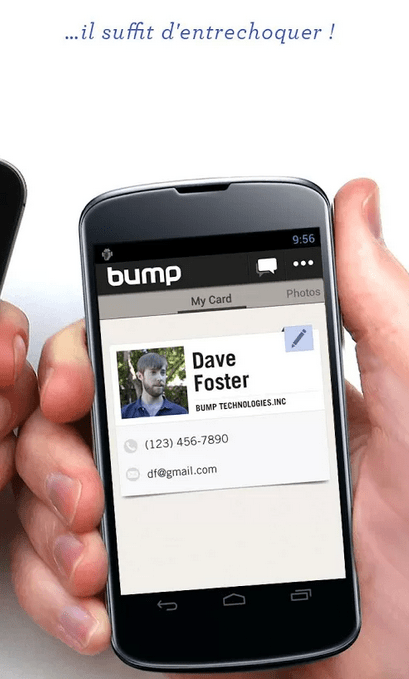 Google rachète l'application Bump
