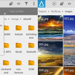 AntTek Explorer 3.3 : l'explorateur de fichiers pour Android se met à jour