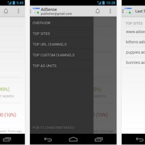 L'application Google AdSense se met à jour et inclut un widget