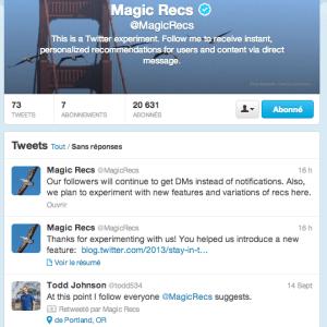 Twitter ajoute des notifications push pour des tweets populaires