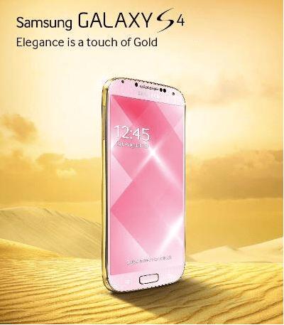 Galaxy S4 Gold Edition : Samsung répond aux critiques