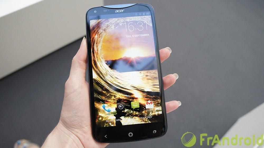 Prise en main de l'Acer Liquid S2, la phablette avec vidéo 4K et Snapdragon 800