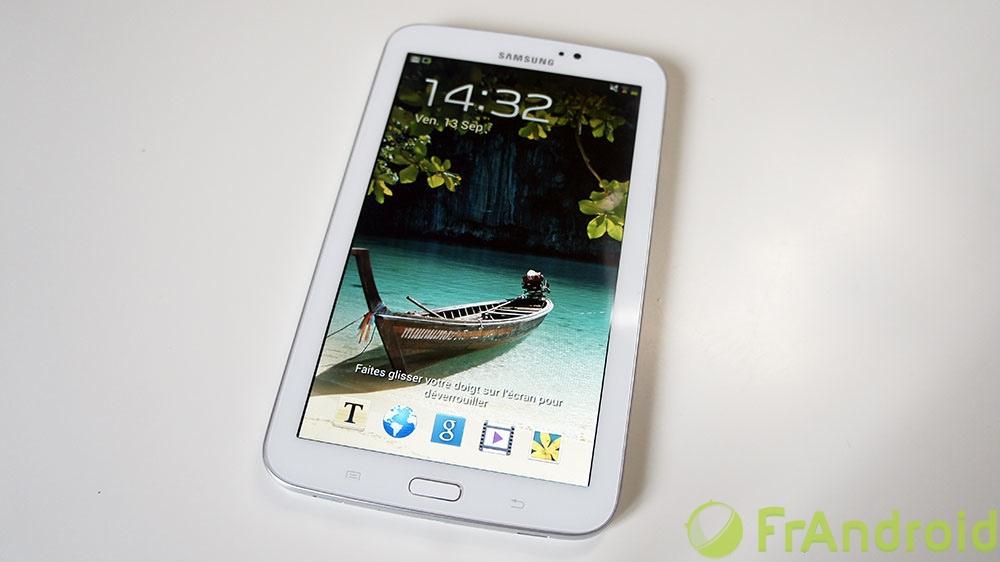 Test de la Samsung Galaxy Tab 3 7.0