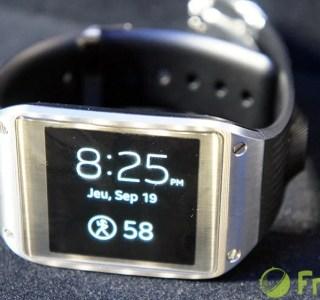 Prise en main de la Samsung Galaxy Gear, la montre à l'esprit trop étroit