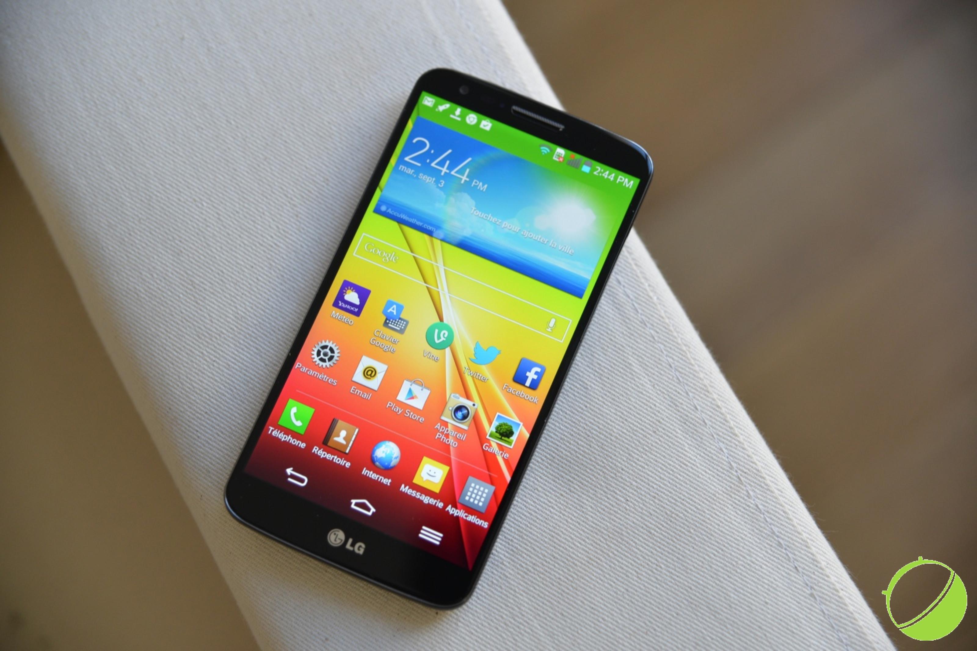 Test du LG G2, le smartphone qui signe le retour du Coréen