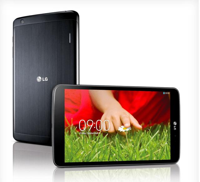 LG annonce sa tablette G Pad, 8,3 pouces et du S600