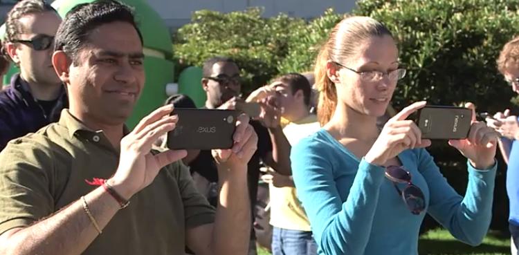 Le mystérieux Nexus apparaît sur la vidéo de promotion d'Android KitKat