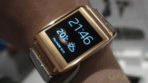 Prise en main de la Galaxy Gear, la montre connectée de Samsung