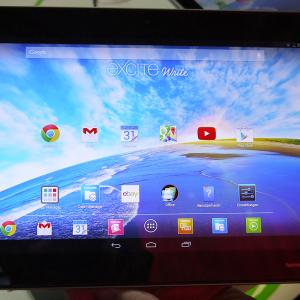 Présentation de la Toshiba Write, une tablette de 10 pouces en 2560 x 1600 pixels