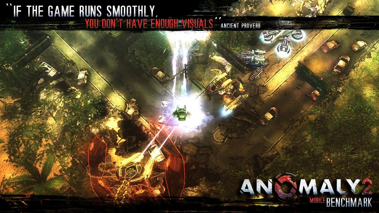 Anomaly 2 Benchmark, un nouvel outil de mesure de performances arrive sur Android