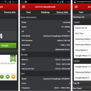 AnTuTu 4.0.1 : après la refonte de l'interface, une mise à jour de stabilité
