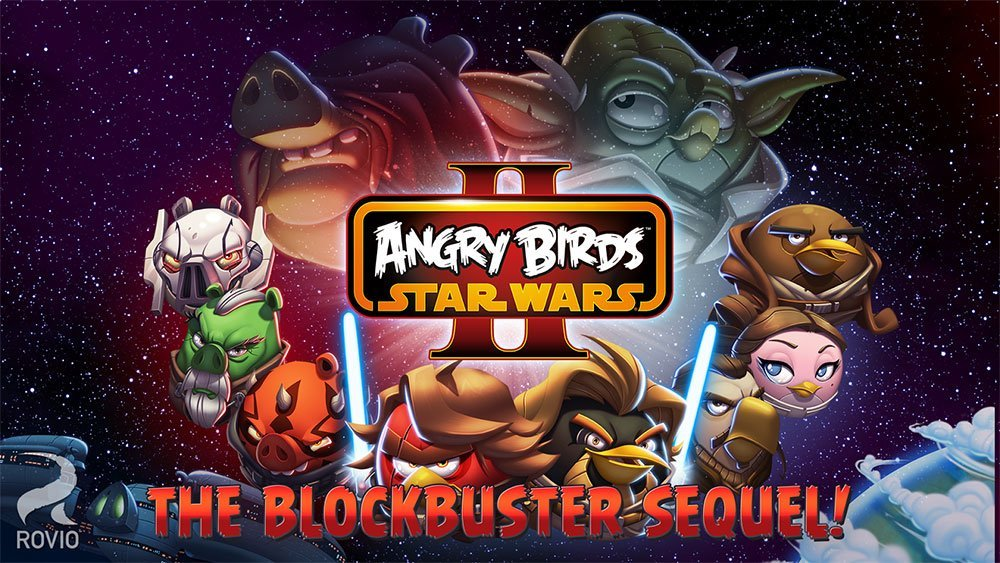 Angry Birds Star Wars 2 est disponible sur le Play Store !