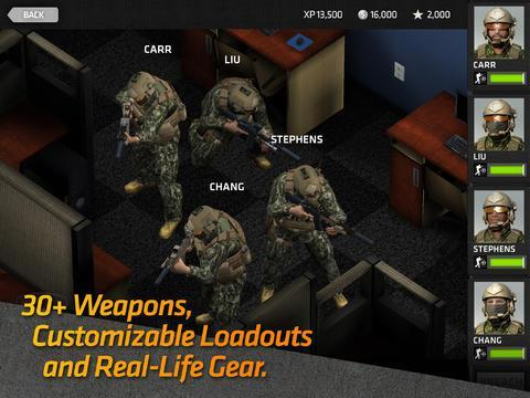 Breach & Clear, contrôlez une escouade des forces spéciales