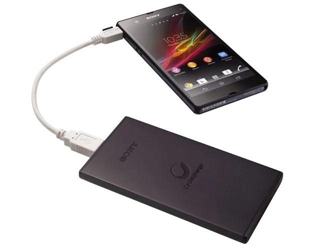 Sony présente deux batteries externes de 5 000 et 10 000 mAh