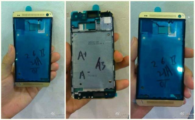 Un HTC One doré en fuite