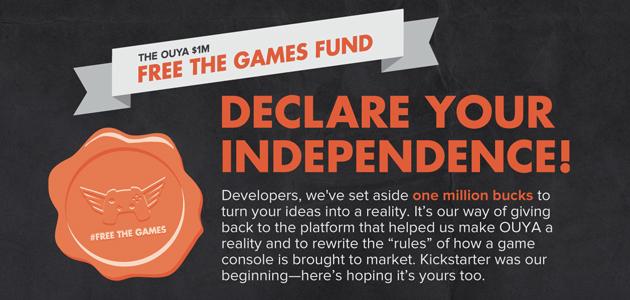 Ouya : Free the Games Fund revoit ses exigences à la baisse