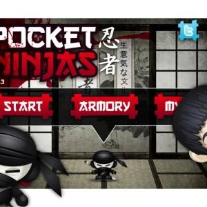 Pocket Ninjas, un Fruit Ninja version gore