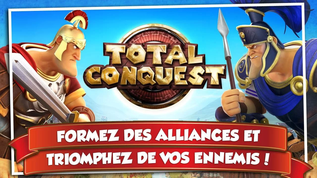 Total Conquest est disponible sur le Play Store