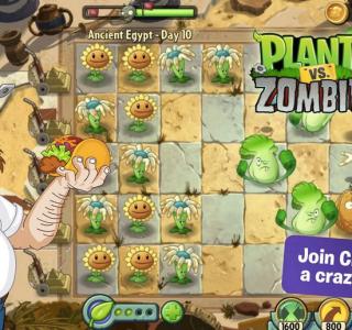 Plants vs Zombies 2 disponible sur le Play Store (mais pas pour tous)