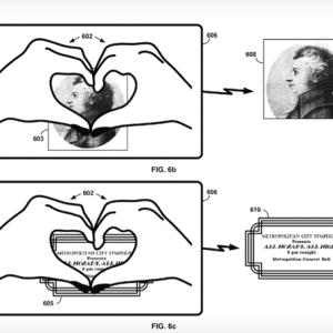 Le «geste coeur», une nouvelle commande envisagée pour les Google Glass