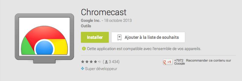 Le Chromecast bientôt disponible dans de nouveaux pays dont la France ?