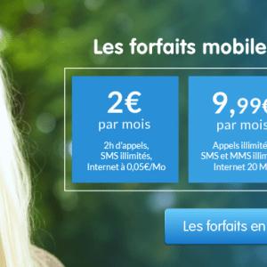 Prixtel propose de nouveaux forfaits mobiles sans engagement à partir de 2 euros