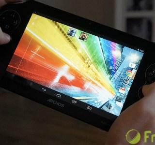 Prise en main de l'Archos GamePad 2 et des jeux Gameloft Asphalt 8 et Modern Combat 4