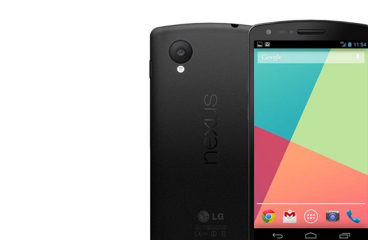 Google Nexus 5 : vers une version 64 Go ?