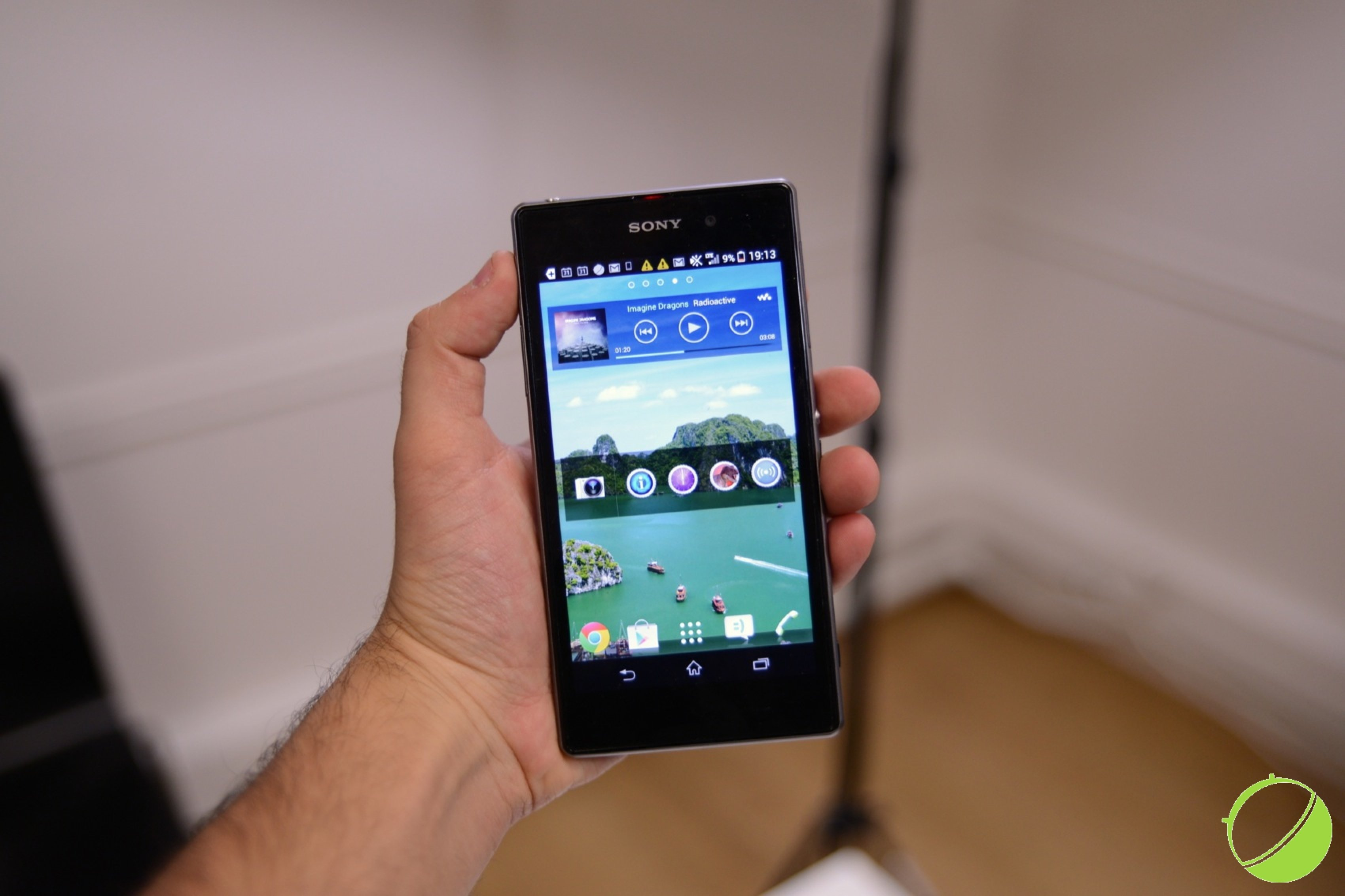 Test du Sony Xperia Z1, cap sur la photo ?