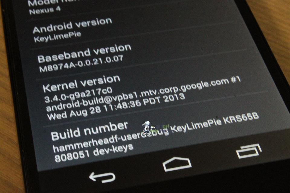 De nouvelles captures d'écran d'Android 4.4 KitKat se dévoilent