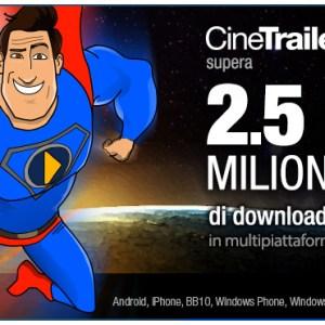 CineTrailer Cinema, une version 2.9 et 2,5 millions de téléchargements
