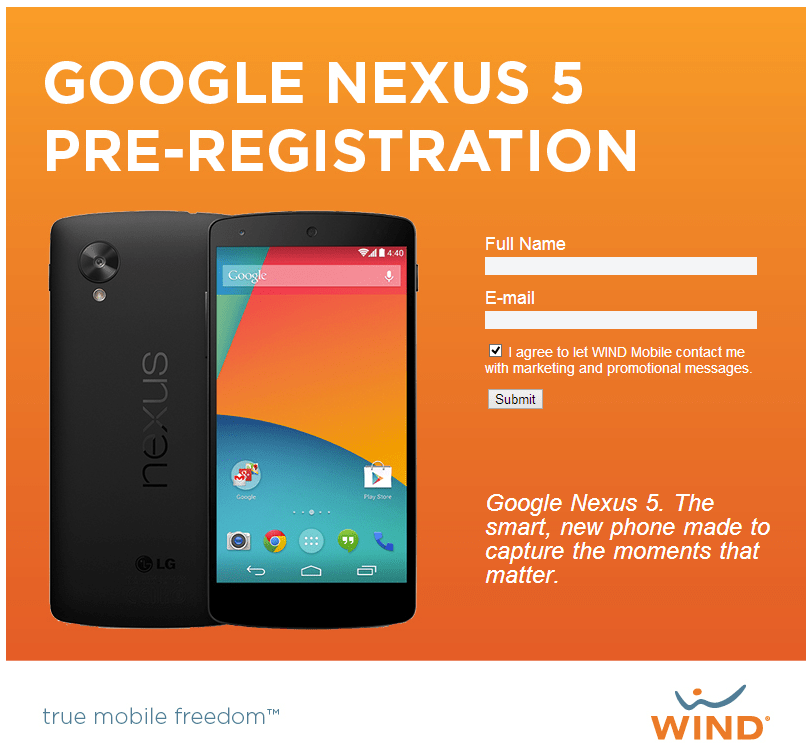 Nexus 5, une «grosse» fuite dévoile les caractéristiques officielles