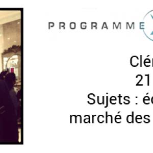 [XPERIENCE] Découvrez les Xperts de la saison 2 : Clément, l'économiste