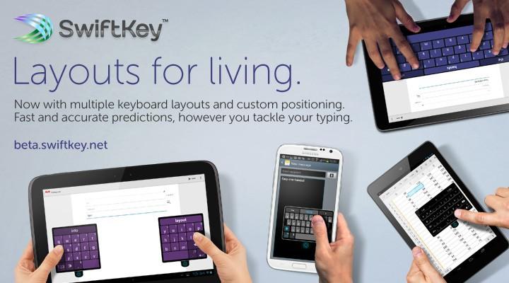 SwiftKey s'offre de nouveaux modes d'affichage dans sa version Beta 4.3