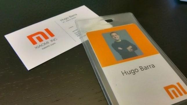 Hugo Barra chez Xiaomi : «Je n'ai jamais vu une telle ferveur»