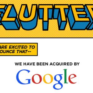 Google rachète Flutter, une start-up spécialisée dans la reconnaissance des mouvements