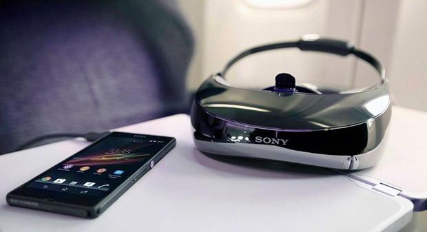 La visionneuse 3D Sony HMZ-T3W en précommande à 1300 euros !