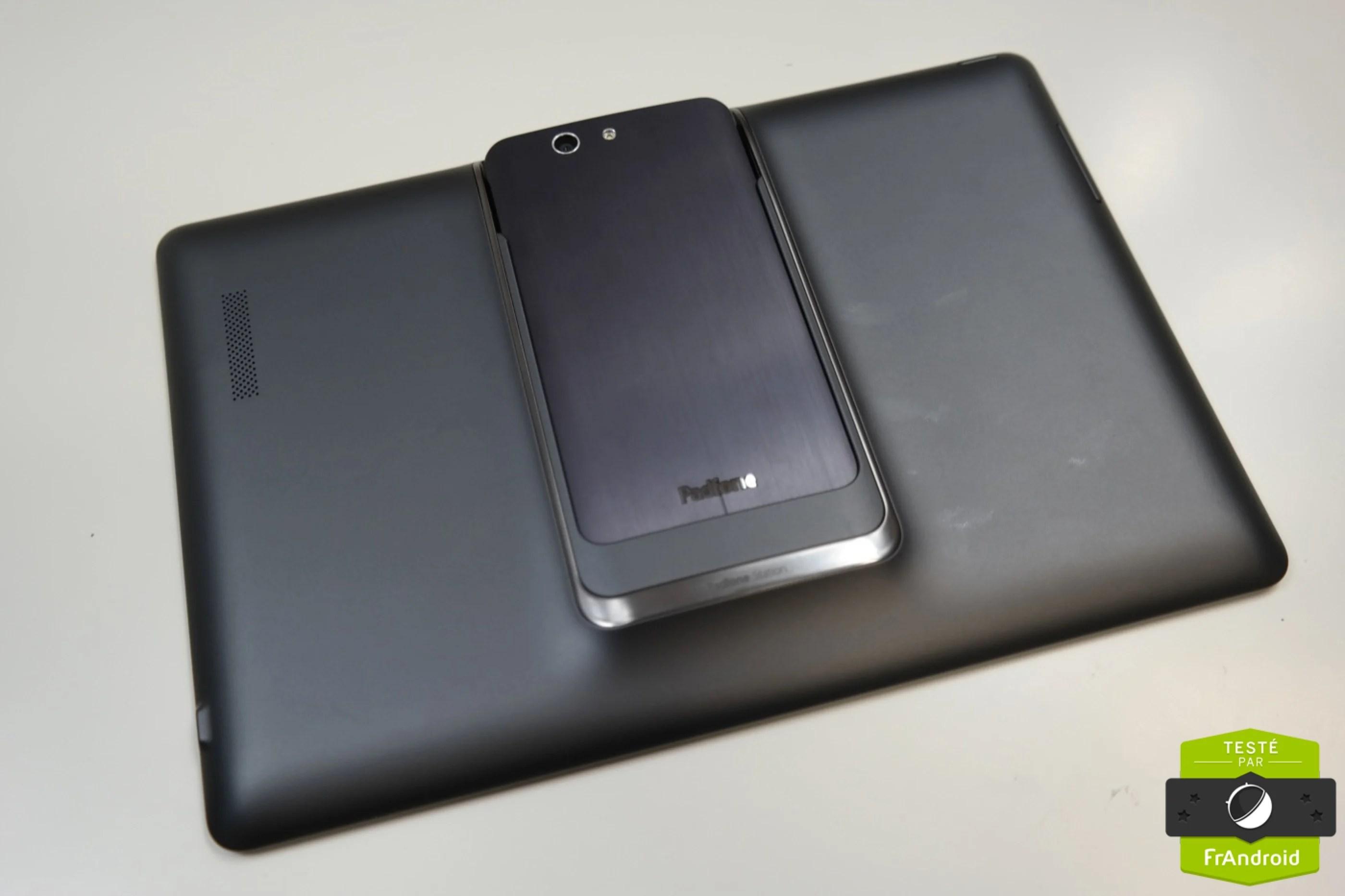 Test flash de l'Asus PadFone Infinity et de la PadStation, le tabletto-smartphone
