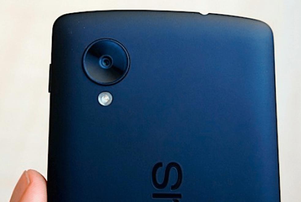 Nexus 5, focus sur le capteur photo