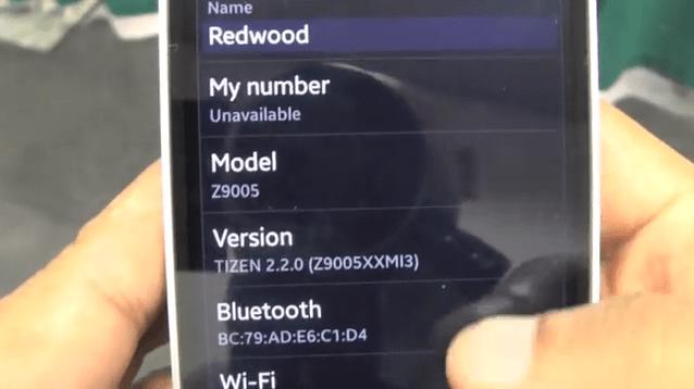 Une vidéo de prise en main du Samsung Redwood sous Tizen 2.2