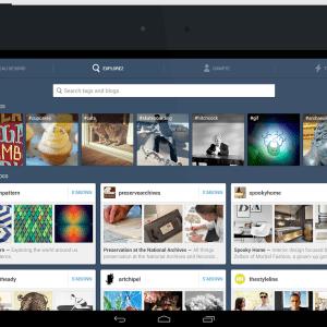 Tumblr 3.5 pour Android inclut la lecture des GIF dans le tableau de bord